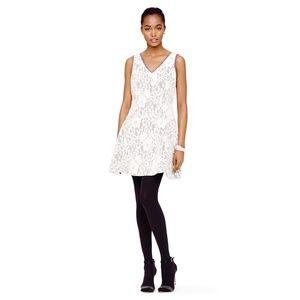 Club Monaco Lace Contrast Dress